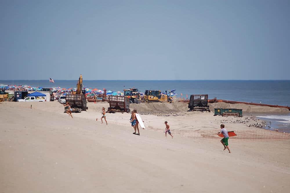 LBI Dune Dredging Project Underway | Jersey Shore Online