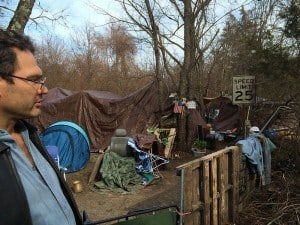 Howell Homeless Camp
