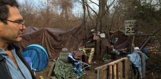 Howell Homeless Camp