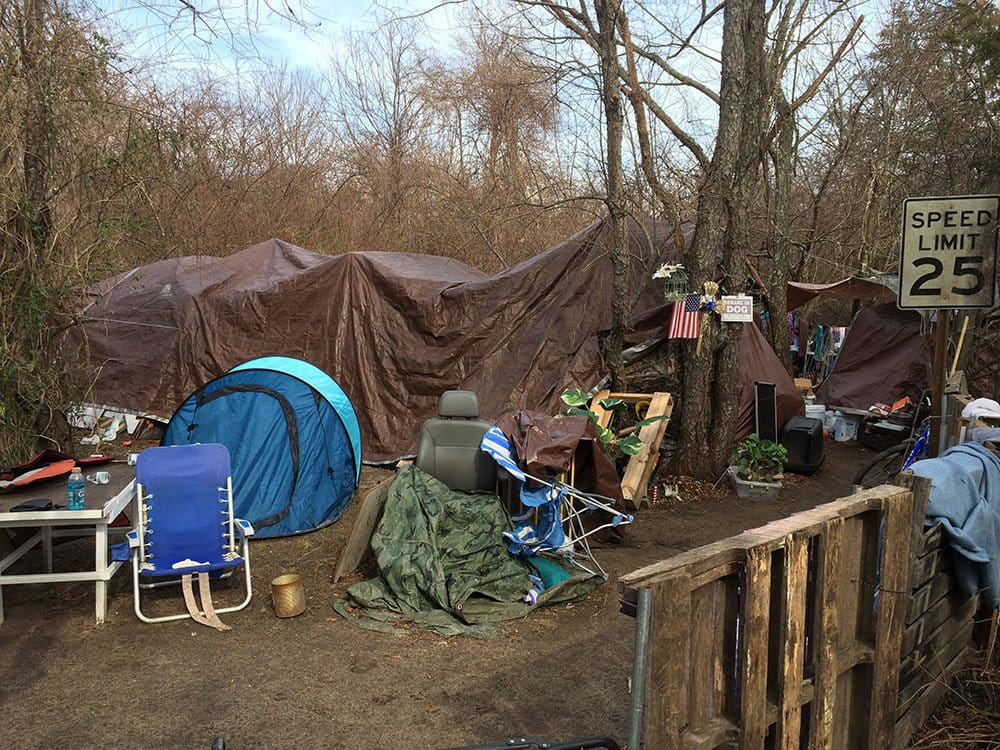 A Look Inside A Local Homeless Camp | Jersey Shore Online