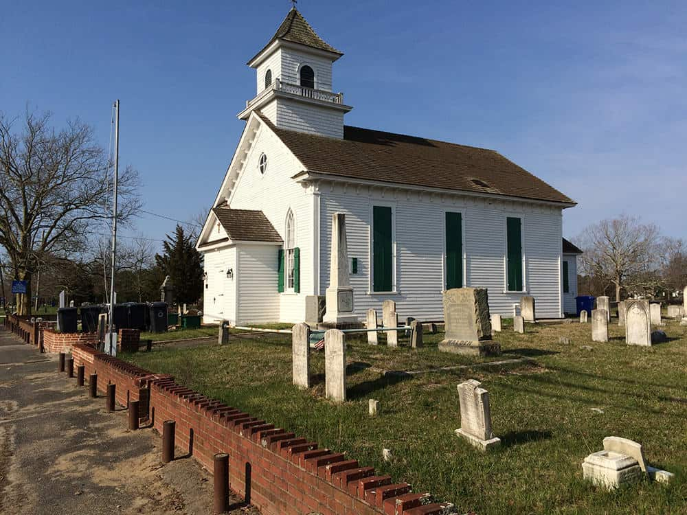 Stafford S Old Baptist Church Repaired Jersey Shore Online