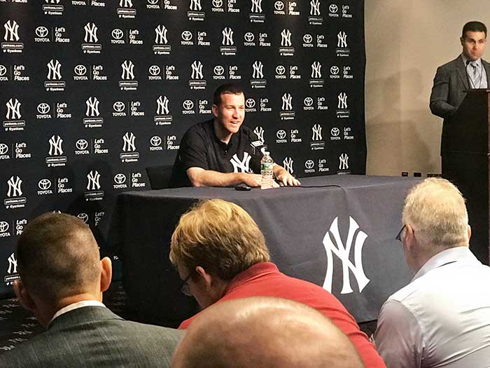 new product 66485 76cd4 Grunin Center To Host Yankee's Todd Frazier | Jersey Shore ...