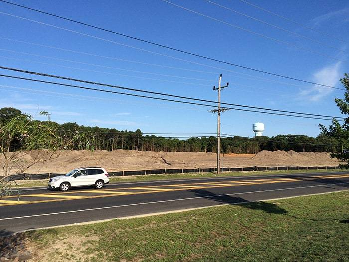 Land Cleared In Waretown For Apartments Businesses