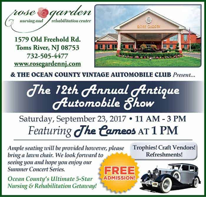 Antique Automobile Show Featuring The Cameos Jersey Shore Online