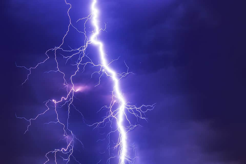 Teacher struck by lightning outside of NJ school during thundersnow