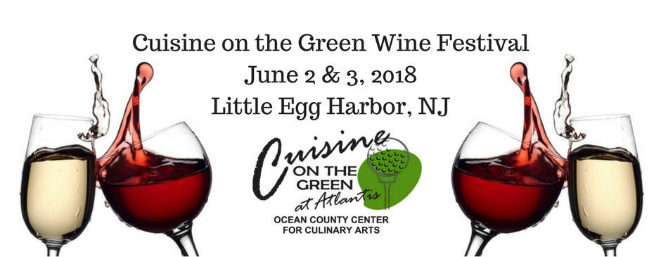 don t miss the cuisine on the green wine festival jersey