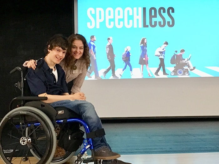 Speechless Star Gives Inspirational Talk To Students