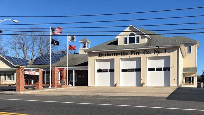 For Fire Company No. 3, the polling place is the Herbertsville Fire Company on Herbertsville Road.(Photo by Judy Smestad-Nunn)