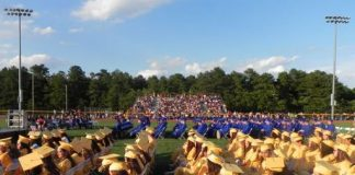 Graduation at Manchester Township High School. (Photo courtesy Manchester Schools)