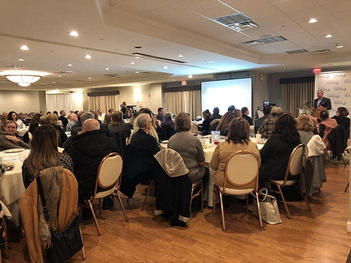 It was a full house at the Southern Ocean County Chamber of Commerce's State of the Chamber event on Jan. 16 at The Holiday Inn in Manahawkin. (Photo by Kimberly Bosco)