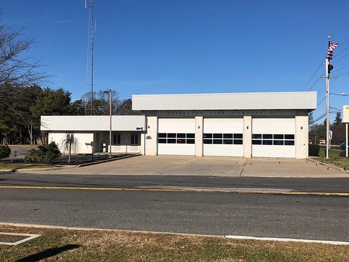 The polling place for Fire District No. 2 is the Laurelton Fire Company on Route 88 and Olden Street. (Photo by Judy Smestad-Nunn)