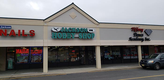 The Jackson Hobby Shop located in the Bennett Mills Plaza on West County Line Road closed its doors after 50 years on Jan. 19. (Photo by Bob Vosseller)