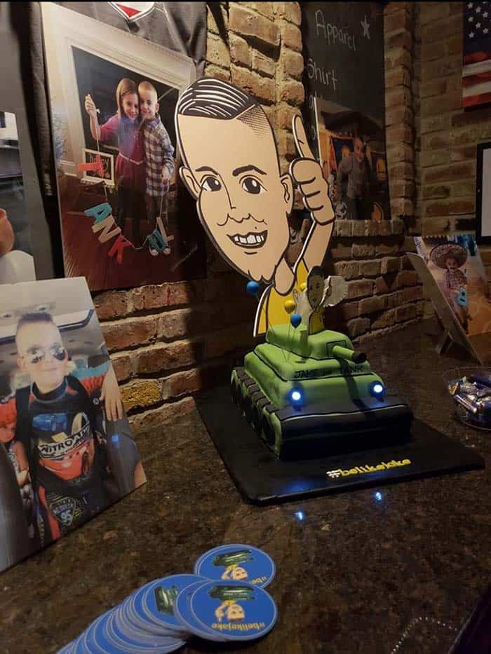 The Honig family celebrated the one year anniversary of Jake Honig's passing by raising money to help other children fight cancer through the Frances Foundation. (Photo courtesy Howell Happenings)