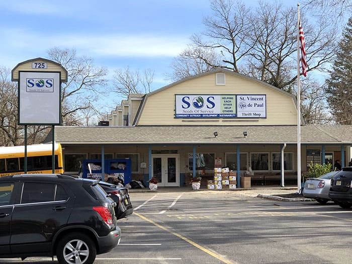 Seeds of Service is the new name for the former Visitation Relief Center on Mantoloking Road. (Photo by Judy Smestad-Nunn)