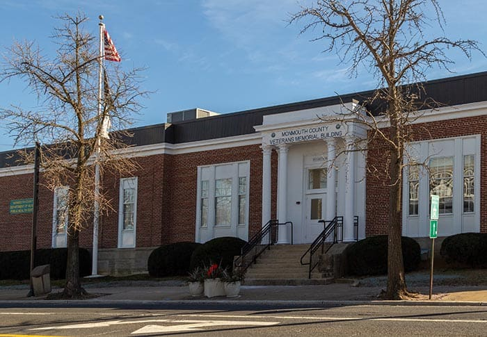 The department is now located at 50 East Main Street in downtown Freehold. (Photo courtesy Monmouth County)