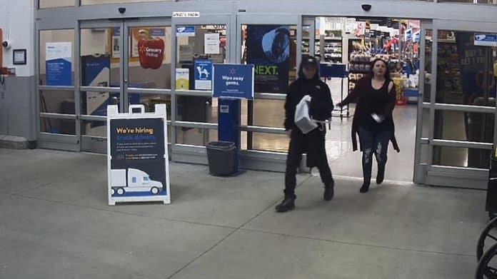 Police want to question the couple about a Feb. 9 theft. (Photo courtesy Little Egg Harbor Police)