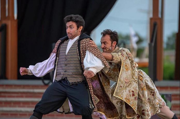 From last year's Toms River Shakespeare Festival, the summer production of