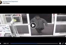 A screenshot of the surveillance video from CVS. (Photo courtesy Barnegat Police Department)
