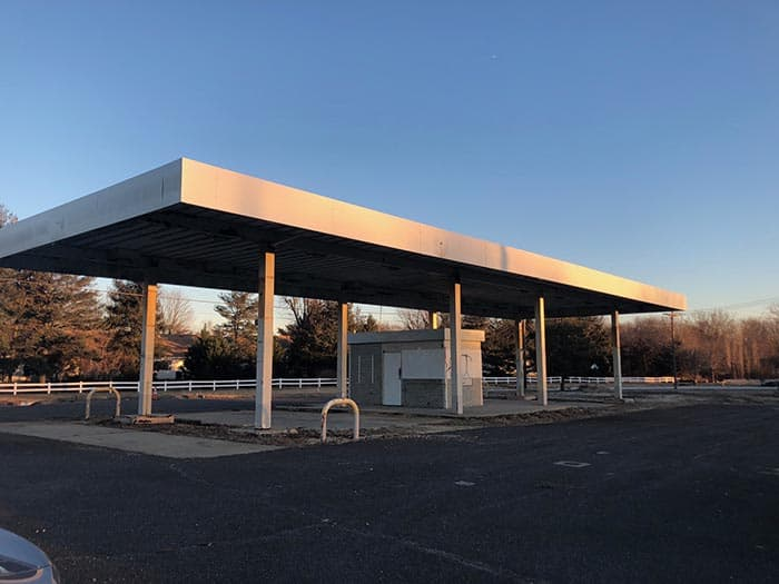 The proposed site for the BP gas station is 695 Route 9 North and Wyckoff Mills Road in Howell. (Photo by Kimberly Bosco)