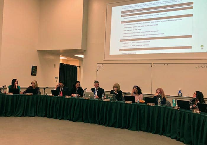 The Board of Education has been discussing the impact of the cuts in state aid. (Photo by Judy Smestad-Nunn)