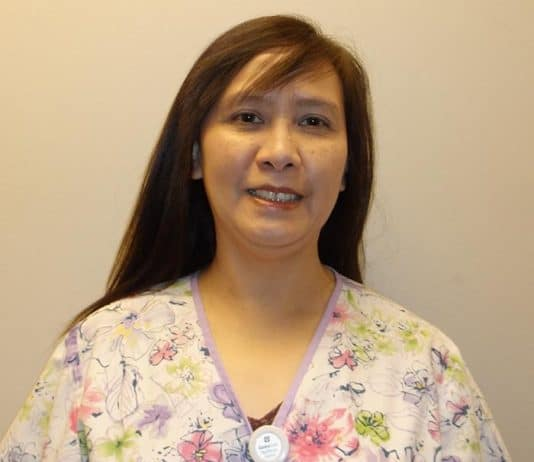 Felicis Janice Pascua, RN, BSN (Photo courtesy CentraState)
