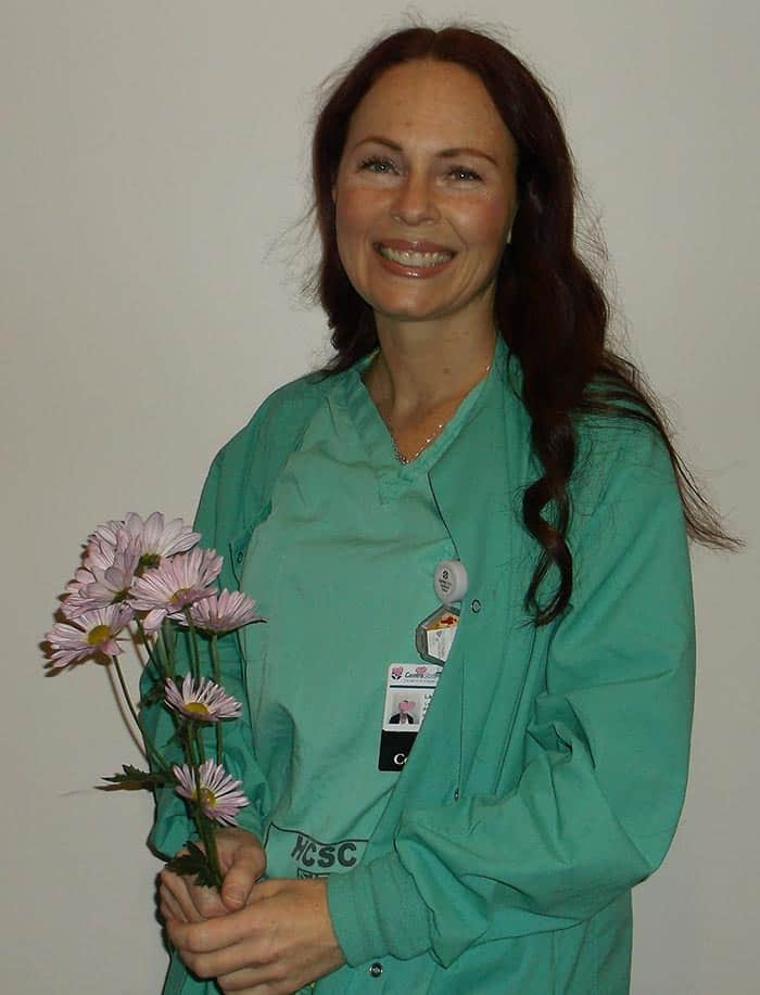Laurie Jaffe, BA, BSN, RN, CCRN (Photo courtesy CentraState)