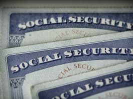 Social Security cards. (Photo by Jennifer Peacock)