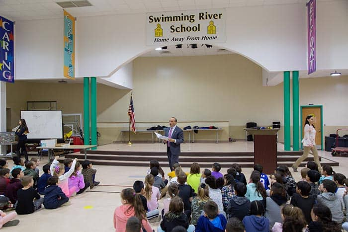 Swimming River School. (Photo courtesy Monmouth County)