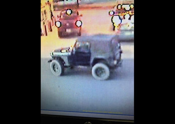 Police Want Info On Jeep Involved In Hit And Run Jersey Shore Online