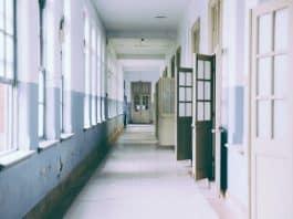 School hallway. (File photo)