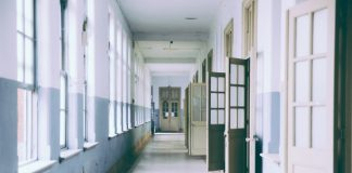 School hallway. (File photo)