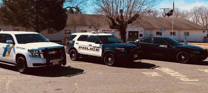 Multi-Agency Traffic Enforcement Detail. (Photo courtesy Jackson Township Police)