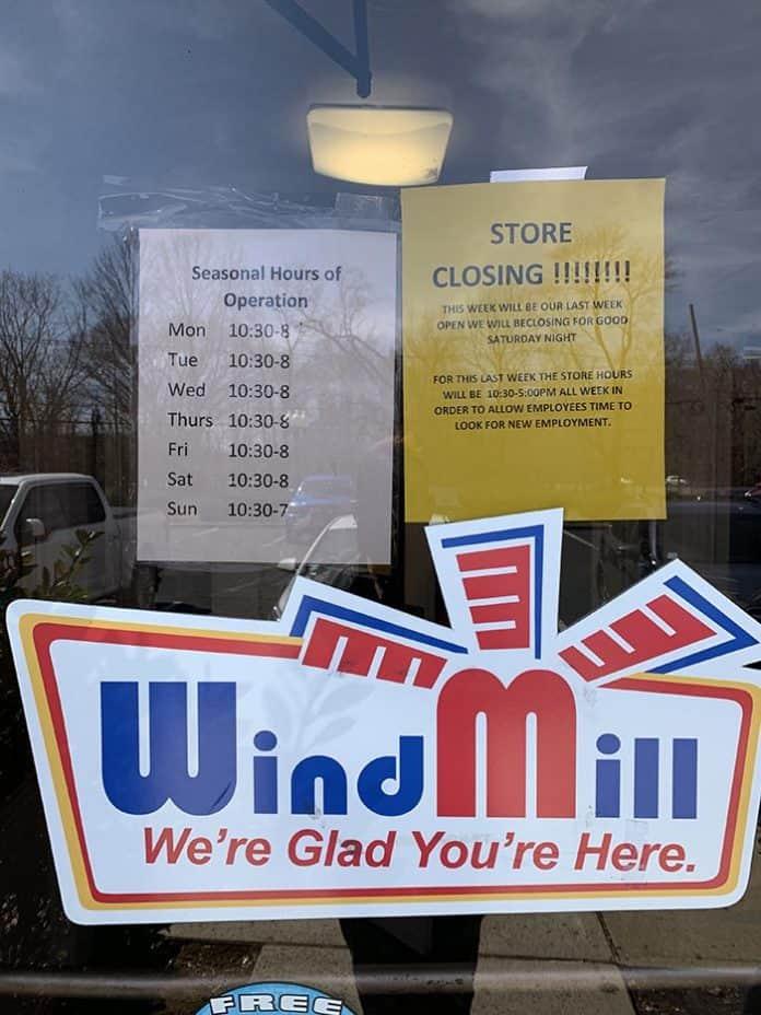 The WindMill is not closing. (Photo courtesy Danny Chin, Omega Photo Studios)
