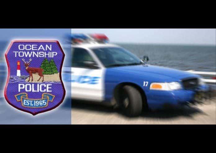 Ocean Township Police. (Photo courtesy Ocean Township Police)