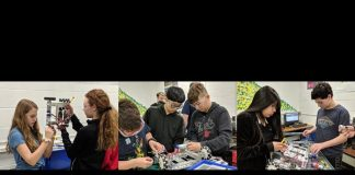 The Office of Naval Research (ONR) has awarded Toms River Regional Schools with a second grant funding the district's TR:TechReady initiative. (Photo courtesy TRRSD)