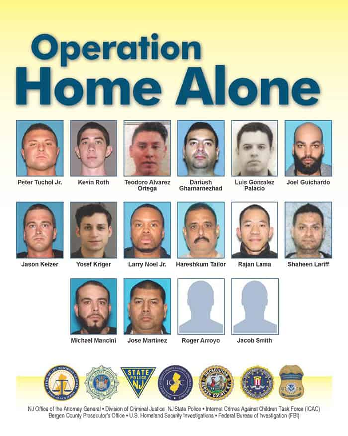 16 Arrested For Child Porn In Undercover Operation | Jersey Shore Online