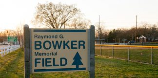 Bowker Memorial Field will be renovated. (Photo by Jennifer Peacock)