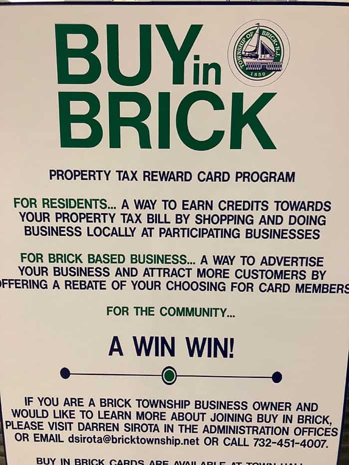 Flyers like this encourage business owners and residents to join the program. (Photo by Judy Smestad-Nunn)