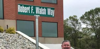 Former councilman Robert Walsh was recently honored by Howell township officials with a street named in his honor. (Photo courtesy Howell Township)