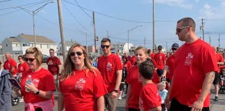 The 6th annual Kristen's Legacy of Love for Brain Aneurysm Awareness 5K was held on May 19 in Seaside Park. (Photo submitted)