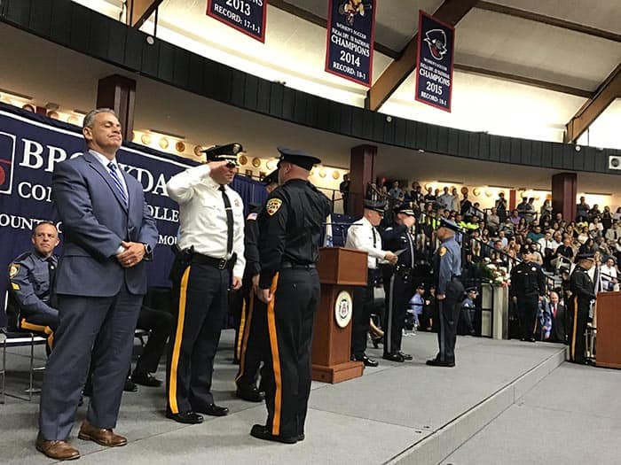 On May 22, the Monmouth County Police Academy graduated another 93 newly sworn law enforcement and corrections officers. (Photo courtesy MCSONJ)
