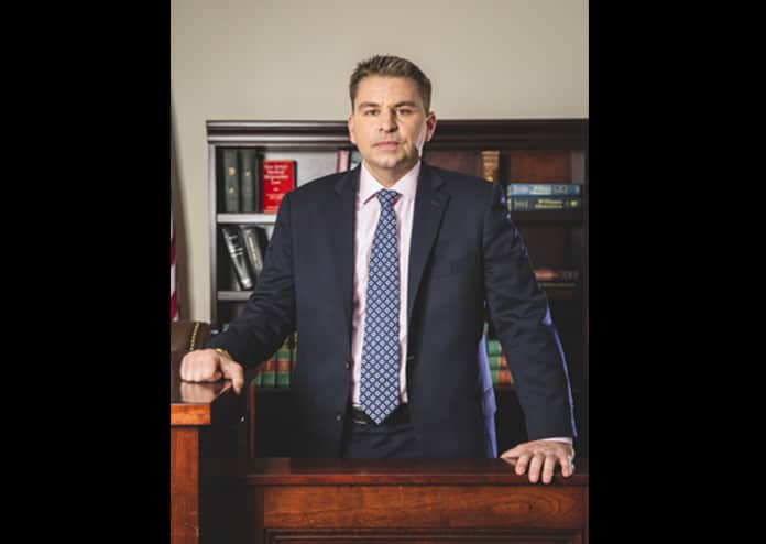 John Syers is being represented by Freehold-based attorney Richard Lomurro. (Photo courtesy Lomurro Law)