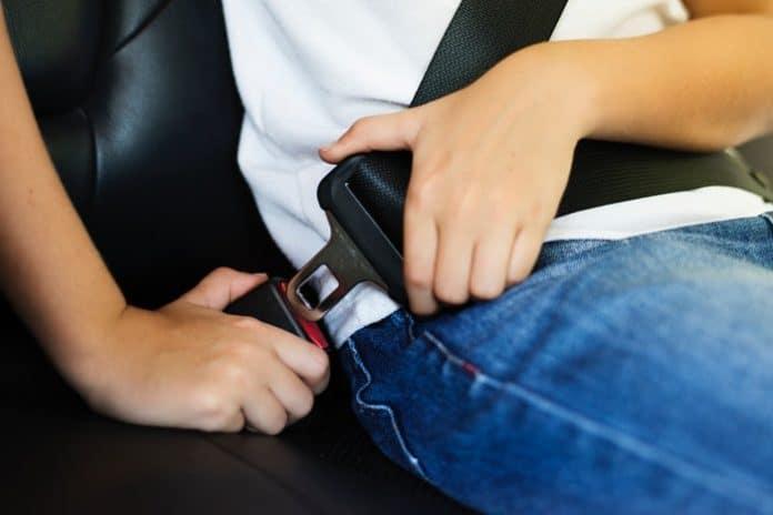 Seat belt. (File photo)