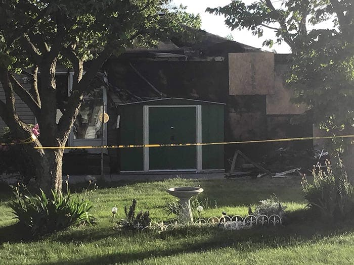 The fire that killed a 93-year-old resident was ruled accidental, officials said. (Photo courtesy Ocean County Scanner News and Jersey Sure News Network)