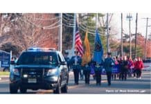 Lacey Township Parade. (Photo courtesy Lacey Township Police)