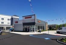 The new Dunkin' is open at Barnegat 67. (Photo by Michael Funicelli)