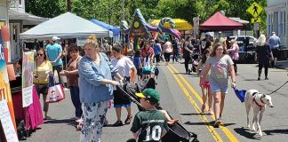 New Egypt Day featured an old fashioned street fair on Saturday May 18 along Main Street in Plumsted Township. (Photo courtesy Plumsted Township)