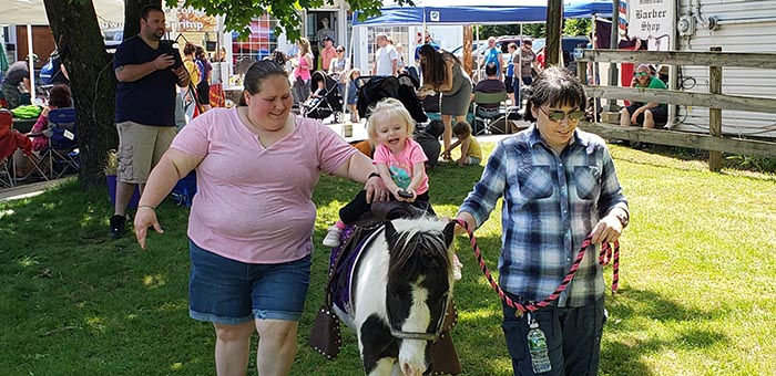 Pony rides were once again a part of this year's New Egypt Day held on Saturday May 18. (Photo courtesy Plumsted Township)