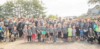 A walk for brain tumor research was held in New Egypt on May 11 and raised more than $19,000. Around 170 walkers took part in the fundraising effort which began at the Laurita Winery on Archertown Road. (Photos courtesy Victor Bubadias Photography)
