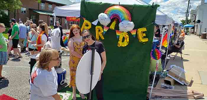Pride Day activities were held throughout June 22 in downtown Toms River.  (Photo by Bob Vosseller)